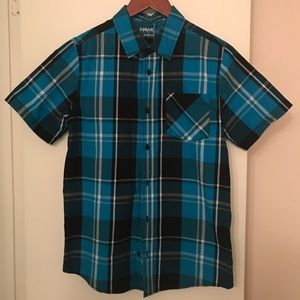 Boys Tony Hawk button down